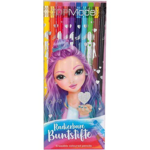 Depesche Buntstift »TOPModel Buntstifte radierbar, 12 Farben«