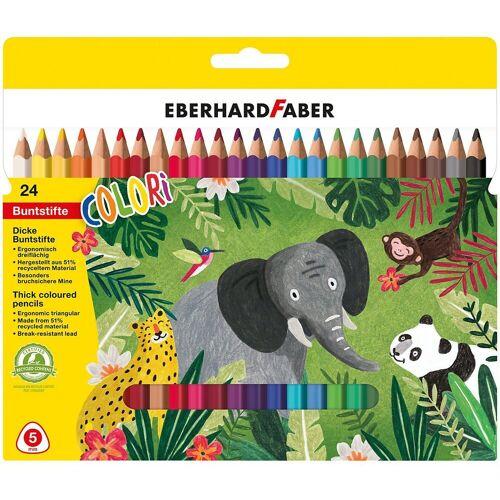 Eberhard Faber Buntstift »Buntstifte JUMBO, 24 Farben«