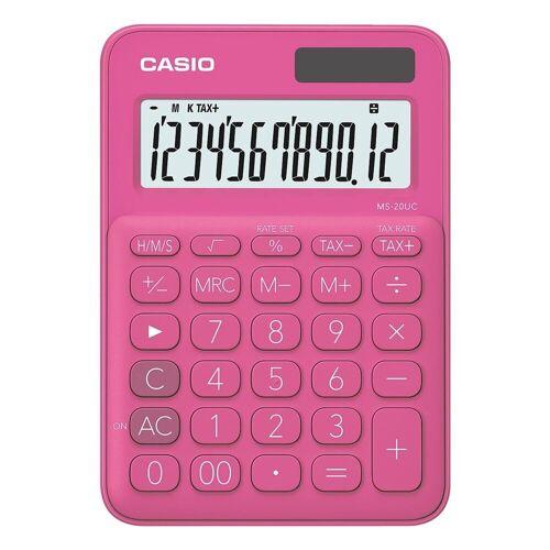 Casio Taschenrechner »MS-20UC«, rot