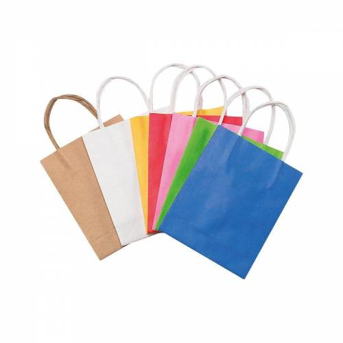 Folia Geschenkpapier »Papiertüten 18 x 21 cm farbig, 20 Stück«