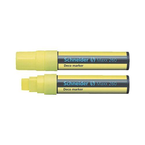 SCHNEIDER Kreidemarker »Maxx 260«, gelb