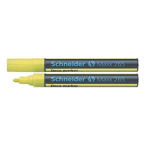 SCHNEIDER Kreidemarker »Maxx 265«, gelb