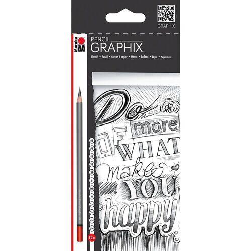 Marabu Bleistift »Bleistifte 12er sort. Pencil, 12 Härten«