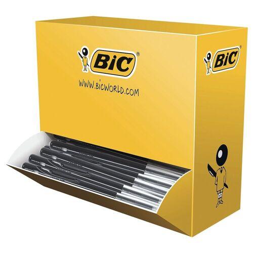 BIC 100er-Pack Druckkugelschreiber »M10«, schwarz