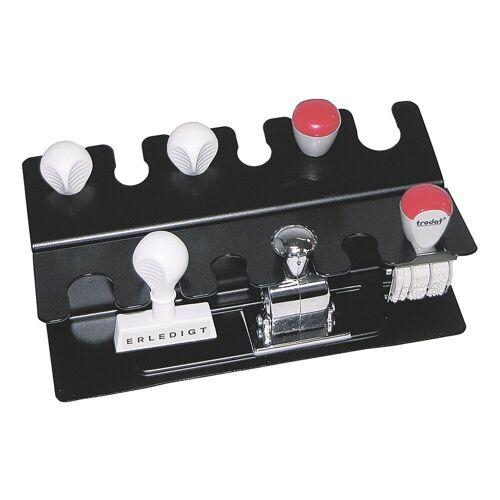 WEDO Stempelhalter für 12 Stempel, schwarz