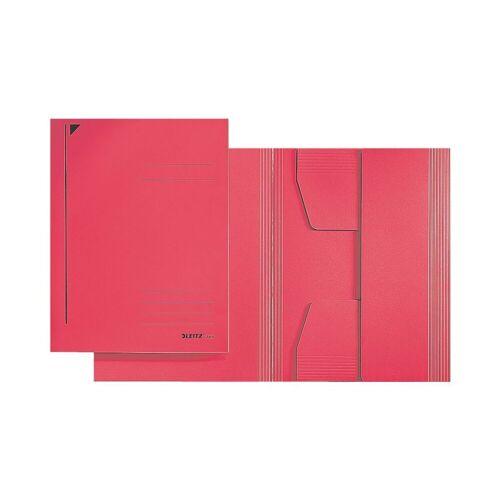 LEITZ Sammelmappe A4 250 Blatt »3924«, rot