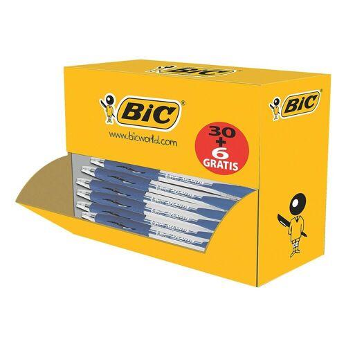 BIC 36er-Pack Druckkugelschreiber »Atlantis Classic«, blau