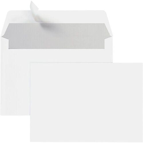 STEINMETZ Briefumschläge C6 ohne Fenster mit Haftklebung - 700 Stück »Umschlagbox«, weiß