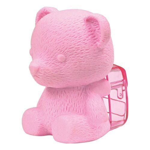 WESTCOTT Radierer mit Spitzer »Bär«, pink