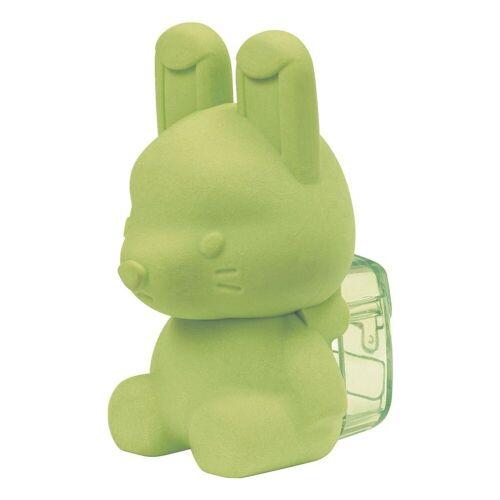 WESTCOTT Radierer mit Spitzer »Hase«, grün