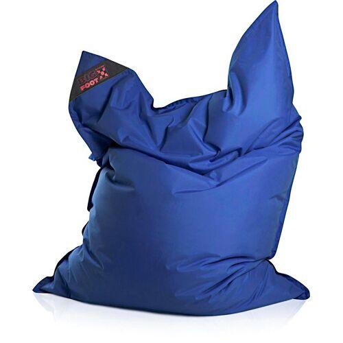 Magma Heimtex Sitzsack »Big Foot«, für Indoor und Outdoor, blau
