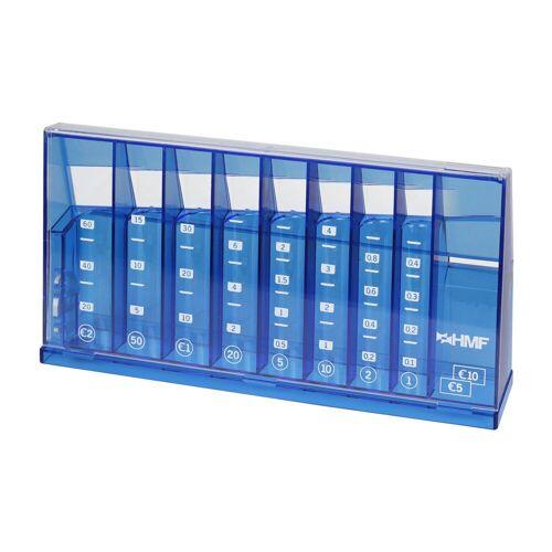 HMF Spardose »4710«, Münzsortierer, 24 x 5 x 12 cm, blau