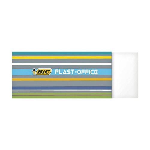 BIC Radiergummi »Plast Office«, weiß