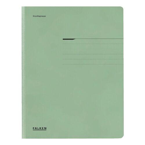 Falken Sammelmappe A4 200 Blatt, grün