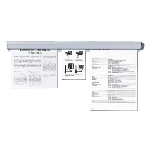 FRANKEN Papierklemmschiene 58 cm »PKS58«, grau