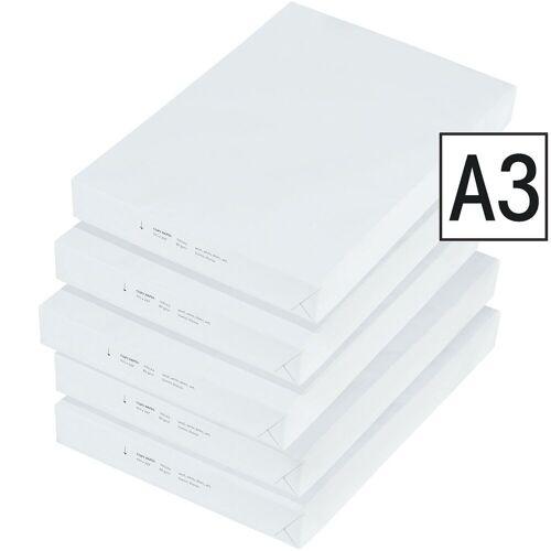 2500 Blatt A3-Kopierpapier, weiß