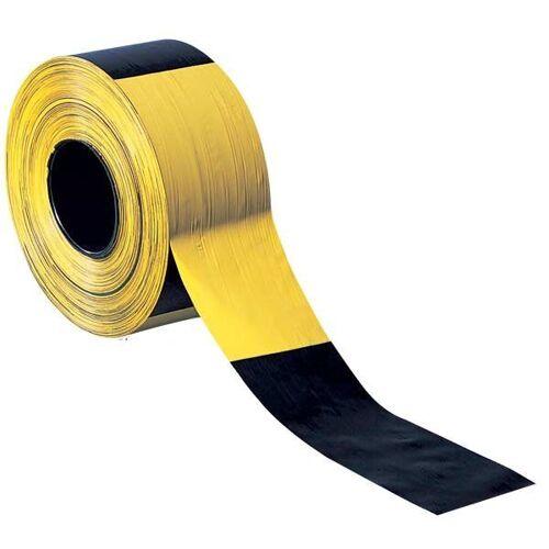 Absperrband / Warnband, schwarz