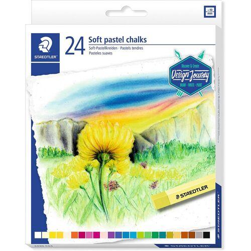 Staedtler Soft-Pastellkreiden, 24 Farben