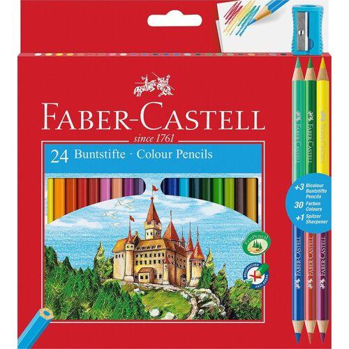 Faber-Castell Buntstifte ECO 24+3 Bicolor