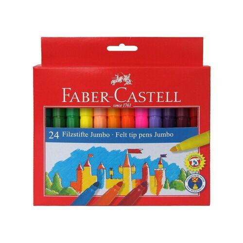 Faber-Castell Filzstifte Jumbo, 24 Farben