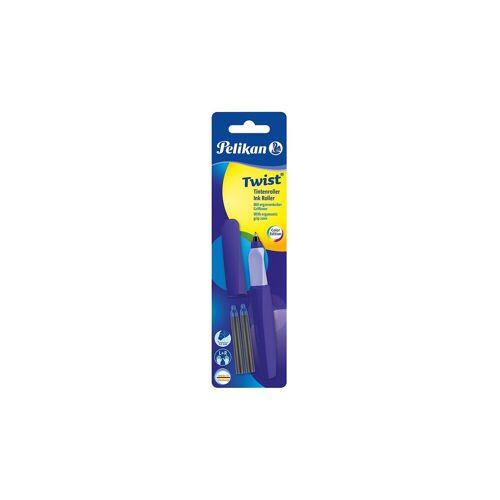 Pelikan Tintenroller Twist R457 Ultra Violet, inkl 2 Rollerpatronen