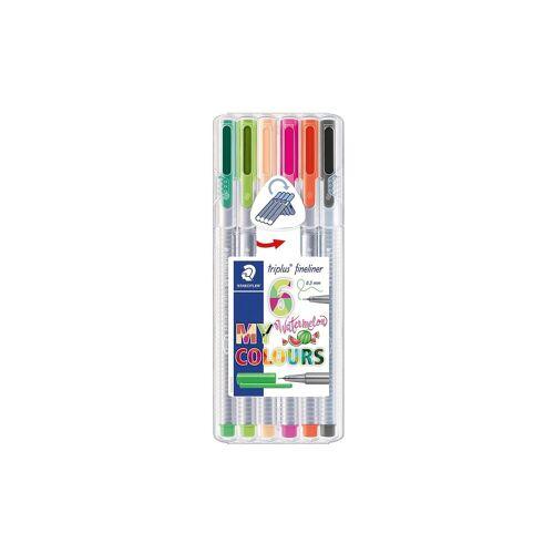 Staedtler Fineliner triplus Fineliner Box My colours design - Wasserme