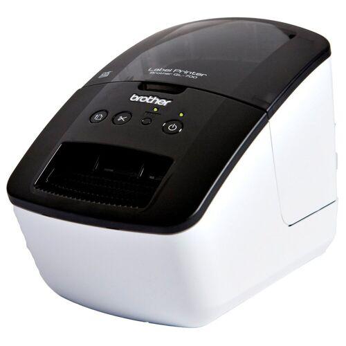 Brother Etikettendrucker »QL-700 Etikettendrucker«, Weiß-Schwarz