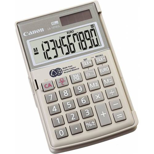 SCHNEIDER NOVUS Taschenrechner »Taschenrechner LS-10TEG Canon, 10-stellig«