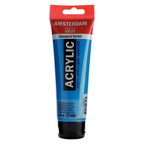 """Acrylfarbe Acrylic """"transparent"""" 120ml, Manganblau Phthalo"""