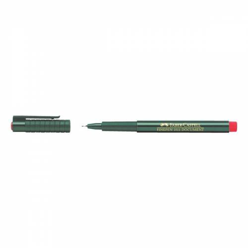 Faber-Castell Fineliner »Finepen 1511«, rot