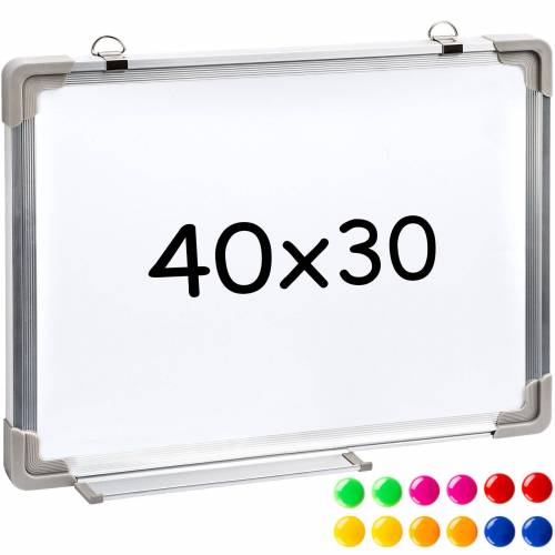 tectake Magnettafel »Magnettafel inkl. 12 farbigen Magneten«