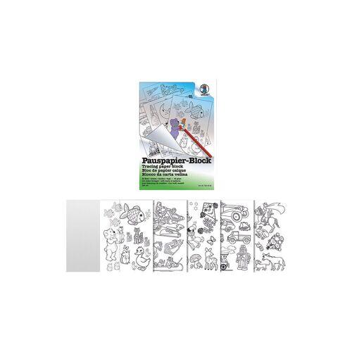 URSUS Papierdekoration »Pauspapier Block A4 50 Blatt, 5 Vorlagen«