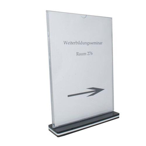 HTI-Line Bilderrahmen »Tischaufsteller A4 Hochformat«, Aufsteller