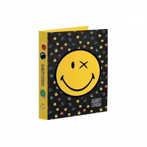 Smiley Aktenordner »Ringbuch A4, World Crazy Things«