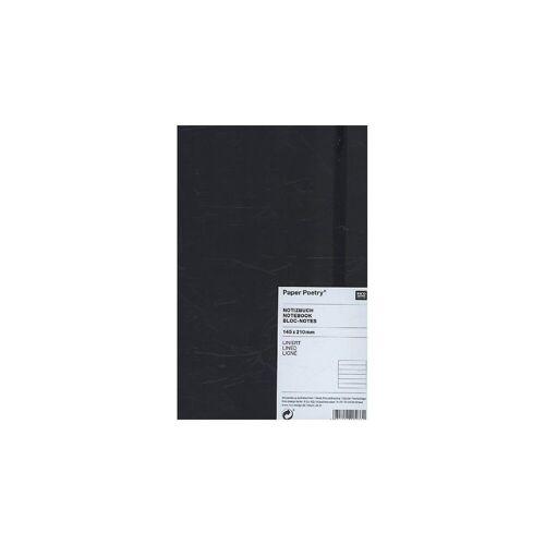 Rico-Design Verlag Notizbuch »Notizbuch A5 Schwarz, liniert«