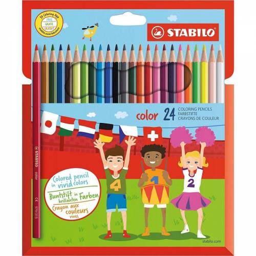 STABILO Buntstift »Buntstifte color, 24 Farben«