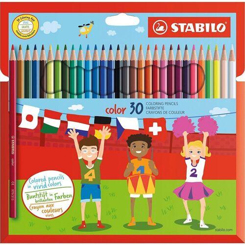 STABILO Buntstift »Buntstifte color, 30 Farben«