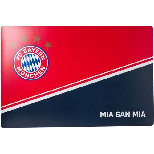 FC Bayern Schreibtischunterlage »Schreibtischauflage - - MIA SAN MIA«
