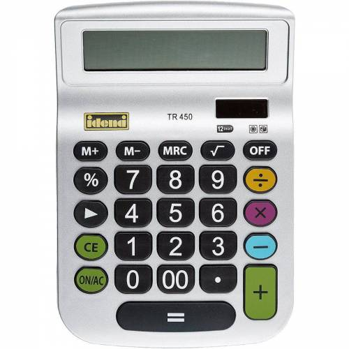 Idena Taschenrechner »Taschenrechner TR 450, 12-stellig«