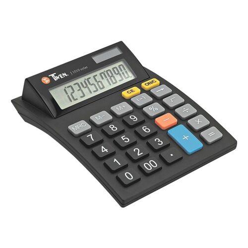 TWEN Taschenrechner »J 1010 solar«, mit Softtouch-Tastatur, 10-stellig