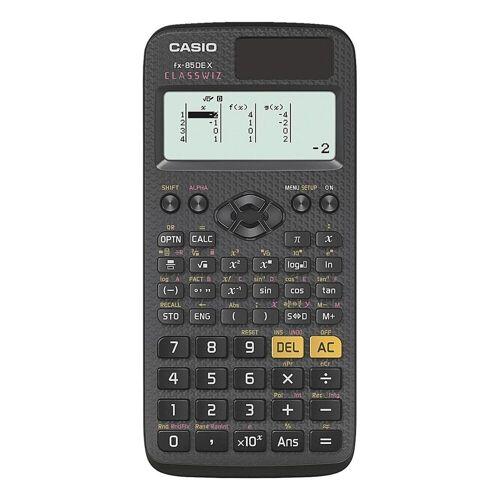 Casio Taschenrechner, mit Icon Menü und QR-Code-Funktion