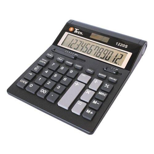TWEN Taschenrechner »1220 S«, mit Gummitastatur, 12-stellig