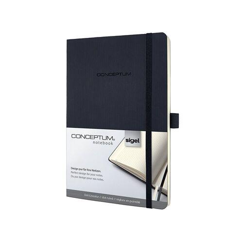 Sigel Notizbuch, Conceptum CO309 Notizbuch Softcover dotted Kladde Notizheft Buch Notizen