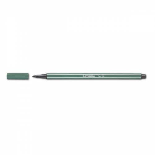 STABILO Filzstift »Pen 68«, (1-tlg), wasservermalbar, grün