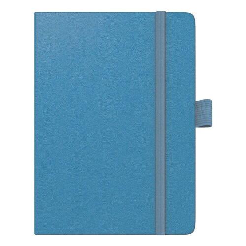 BRUNNEN Taschenkalender »Kompagnon«, für 2021, 2 Seiten = 1 Woche, blau