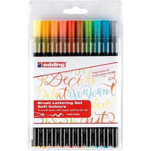 """EDDING Pinselstifte """"1340 Brush Lettering"""" 10er-Set"""