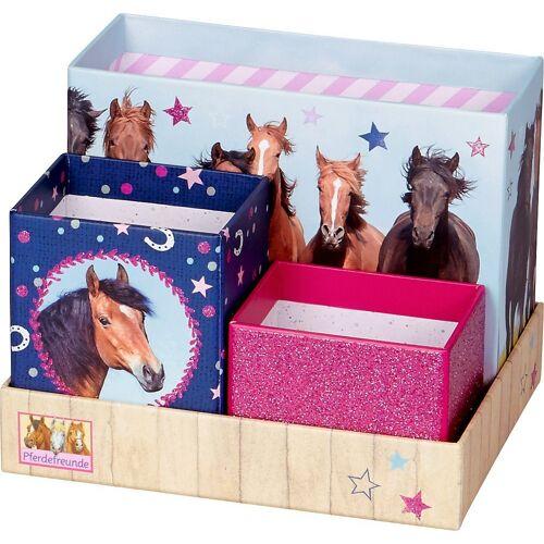 Spiegelburg Aufbewahrungsbox »Schreibtisch-Organizer Pferdefreunde«