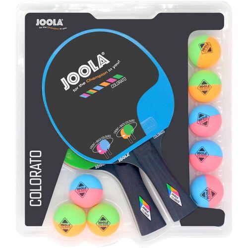 Joola Tischtennisschläger »Tischtennisschlägerset-Colorato« (Set, 10 tlg), bunt