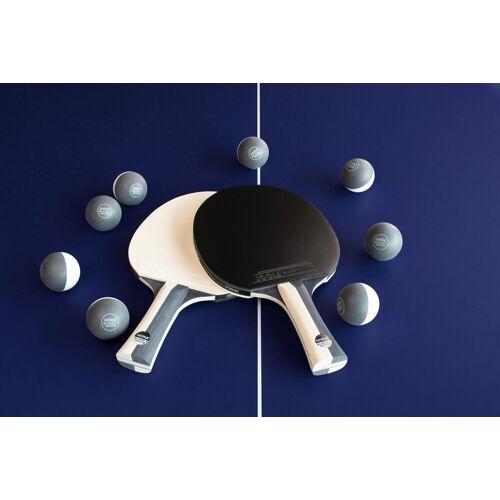 Joola Tischtennisschläger »Tischtennis-Set BLACK + WHITE« (Set, 10-tlg., mit Bällen)