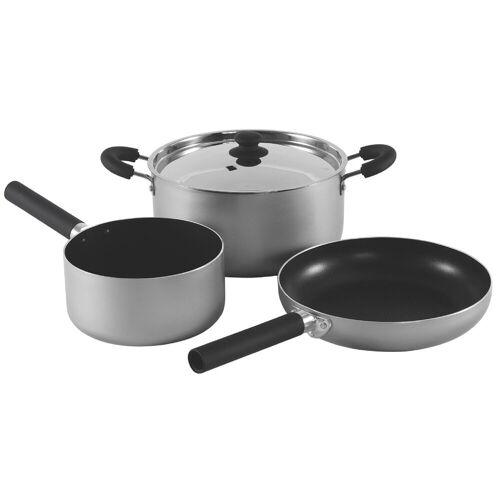 Outwell Camping-Geschirr »Feast Cook Set L«, grau